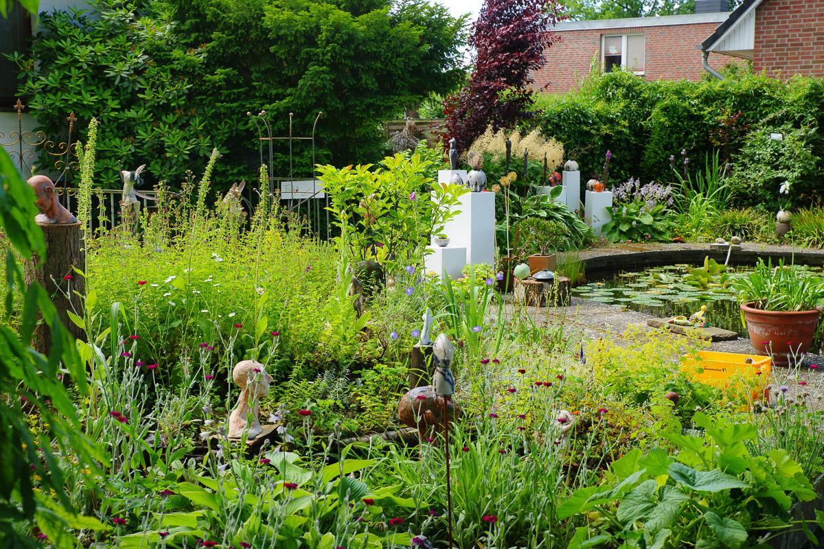 Kunst im Garten - Gartenkunst